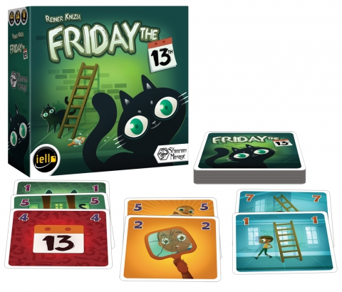 Friday the 13th - Box and material