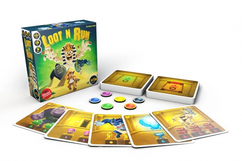 Loot N Run Game - Box and material