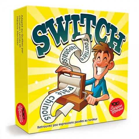 Jeu Switch jaune - boîte