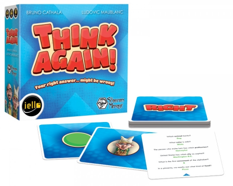 Think Again - Box and material